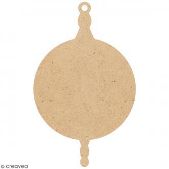 Boule de Noël Ronde à suspendre - 7,5 cm