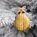 Boule de Noël Ronde à suspendre - 7,5 cm - Photo n°2
