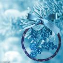Boule de Noël Houx en bois à suspendre - 5 cm - Photo n°2