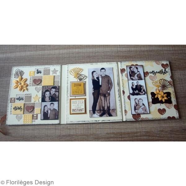Tampon Bois Mini coeur Love - 3 x 3 cm - Photo n°5