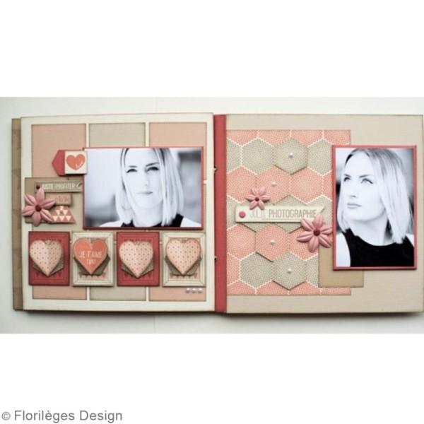Tampon Bois De l'amour dans l'air - 6 x 15 cm - Photo n°2