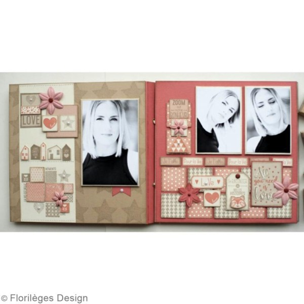 Tampon Bois Inspiration scandinave - 10 x 10 cm - Photo n°5