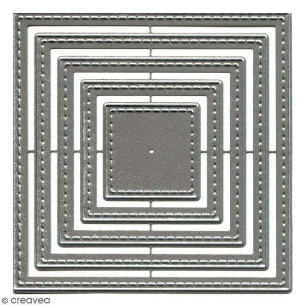 Dies Florilèges Design - Carrés basiques - 5 pcs - Photo n°1