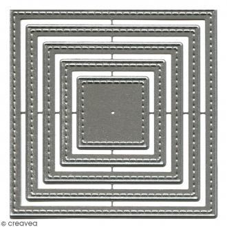 Dies Florilèges Design - Carrés basiques - 5 pcs