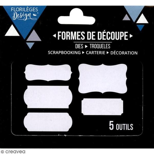 Dies Florilèges Design - Etiquettes - 5 pcs - Photo n°3