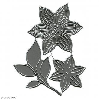 Dies Florilèges Design - Fleurs sublimes 1 - 3 pcs