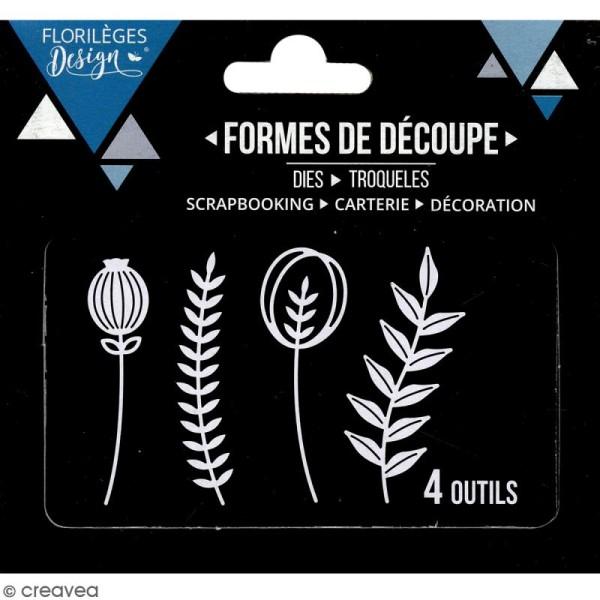 Dies Florilèges Design - Boutons de fleurs - 4 pcs - Photo n°3