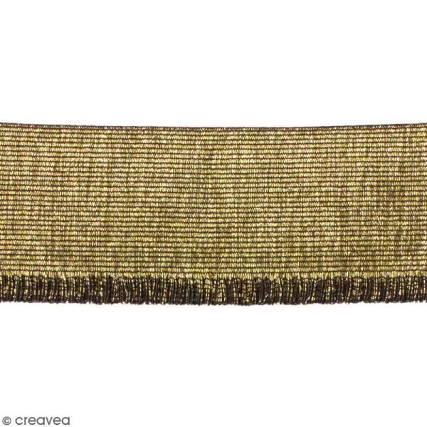 Ruban élastique - Doré - 60 mm - Au mètre (sur mesure) - Photo n°1