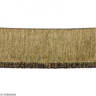 Ruban élastique - Doré - 60 mm - Au mètre (sur mesure)