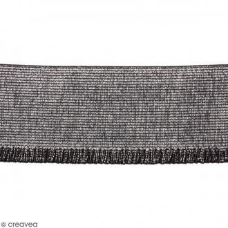 Ruban élastique - Argenté - 60 mm - Au mètre (sur mesure)