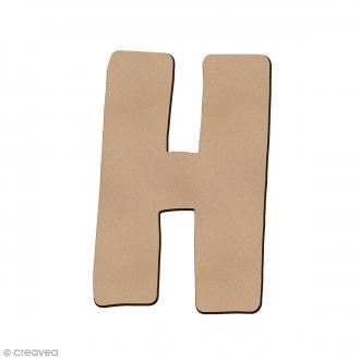 Lettre en bois H 7 cm
