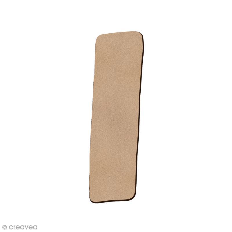 Lettre en bois I 7 cm - Photo n°1