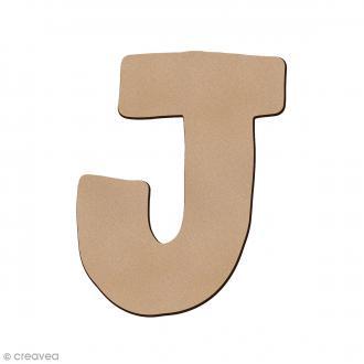 Lettre en bois J 7 cm