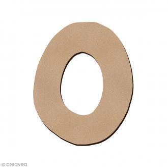 Lettre en bois O 7 cm