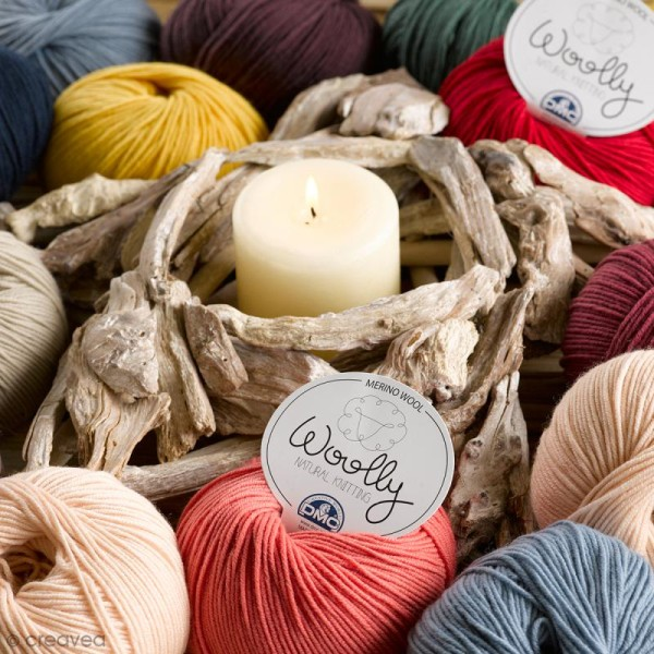 Laine DMC - Woolly Merinos - 50 g - Photo n°6