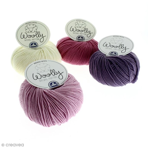 Laine DMC - Woolly Merinos - 50 g - Photo n°1