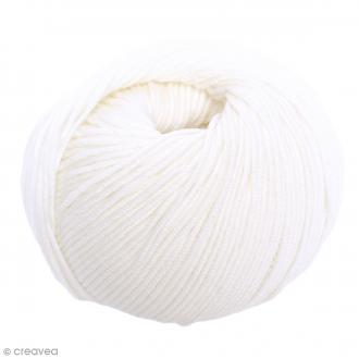 Laine DMC Woolly Merinos - Blanc 1 - 50 g