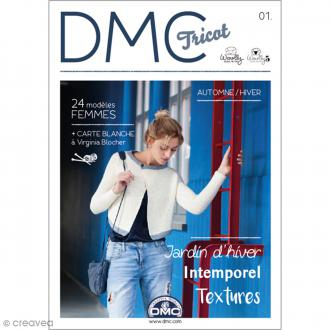 Catalogue tricot DMC - Woolly Heritage - 12 modèles Hommes Femmes