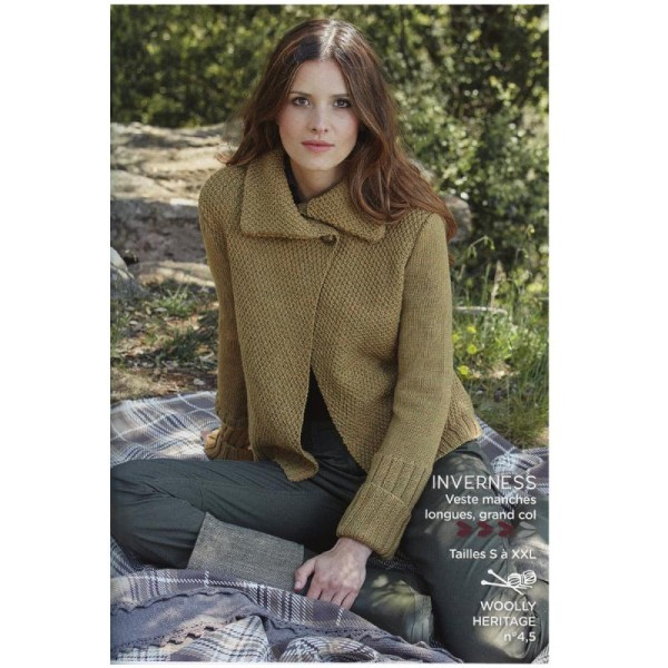 Catalogue tricot DMC - Woolly et Woolly 5 - 24 modèles Femmes - Photo n°3