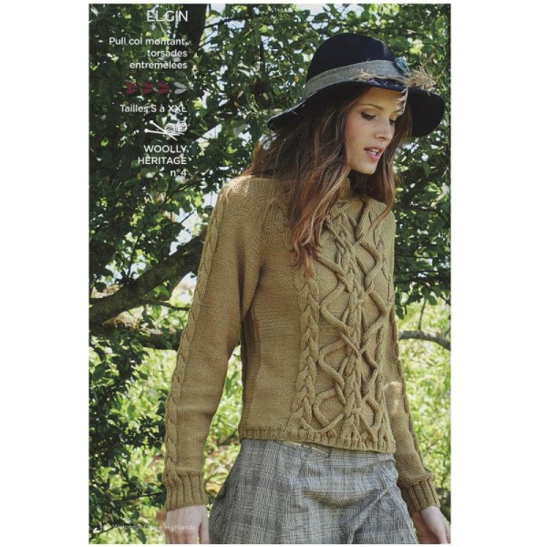 Catalogue tricot DMC - Woolly et Woolly 5 - 24 modèles Femmes - Photo n°4