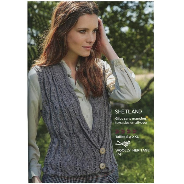 Catalogue tricot DMC - Woolly et Woolly 5 - 24 modèles Femmes - Photo n°5
