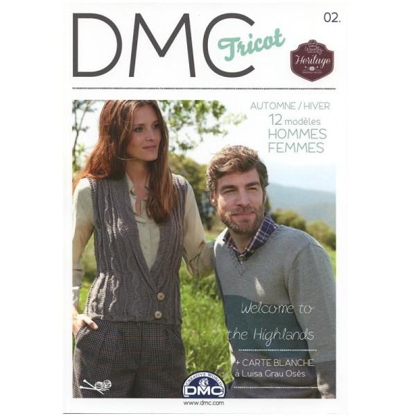 Catalogue tricot DMC - Woolly et Woolly 5 - 24 modèles Femmes - Photo n°1