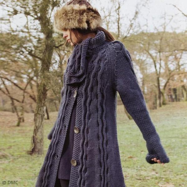 Laine DMC - Woolly 5 Merinos - 50 g - Photo n°6
