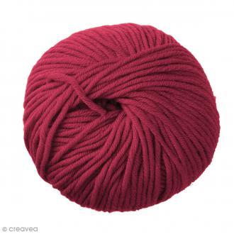 Laine DMC Woolly 5 Marinos - Rose framboise 55 - 50 g
