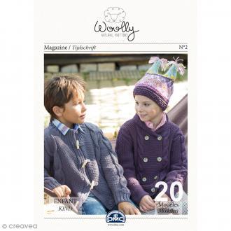 Catalogue tricot DMC - Woolly Enfant - 20 modèles pour enfants