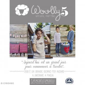Catalogue tricot DMC - Woolly 5 - 18 modèles pour femme