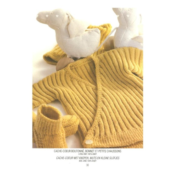 Catalogue tricot DMC - Créations bébé 0 à 6 mois - 8 looks - Photo n°5