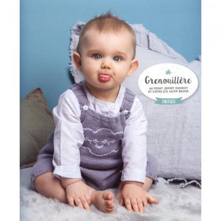 Livre layette vintage 25 mod les pour b b tricoter for Bureau bebe 18 mois