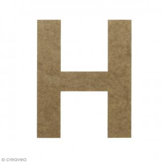 Lettre en bois 20 cm à décorer - H