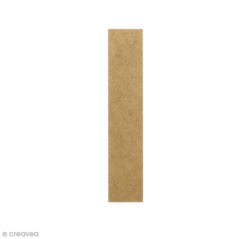 Lettre en bois 20 cm à décorer - I - Photo n°1