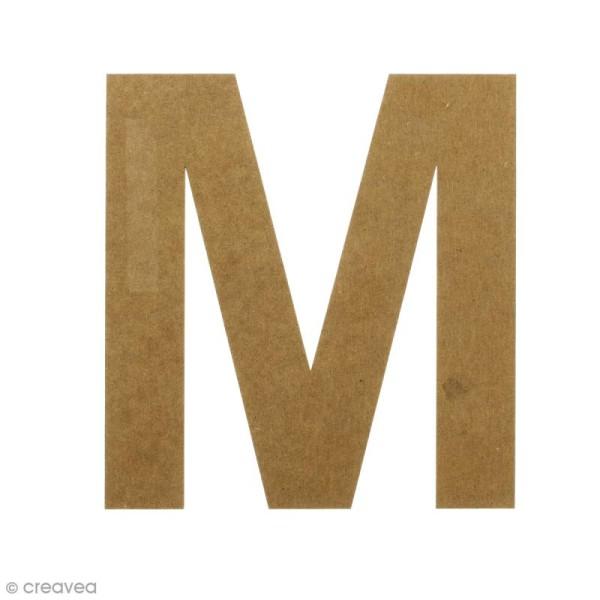 Lettre en bois 20 cm à décorer - M - Photo n°1