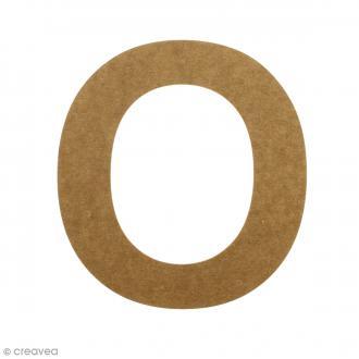 Lettre en bois 20 cm à décorer - O