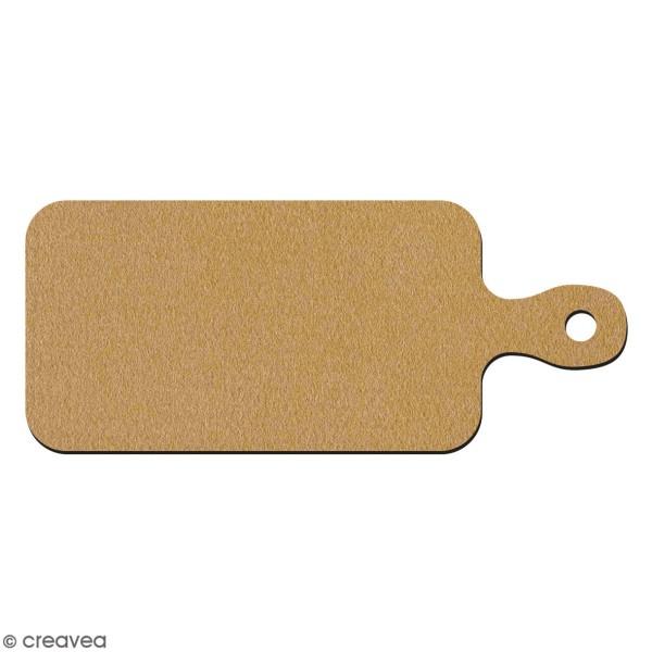 Petite planche en bois à décorer - 9,5 x 23 cm - Photo n°1