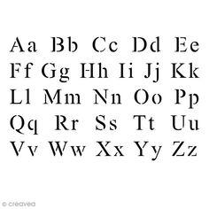 Gabarit polyvalent - 10 x 15 cm - Alphabet Times