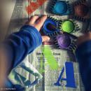 Pochoirs Home Deco - Alphabet - 9 cm - 26 pcs - Photo n°2