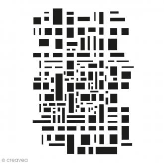 Pochoir multiusage - Géométrique - 29,7 x 21 cm (A4)