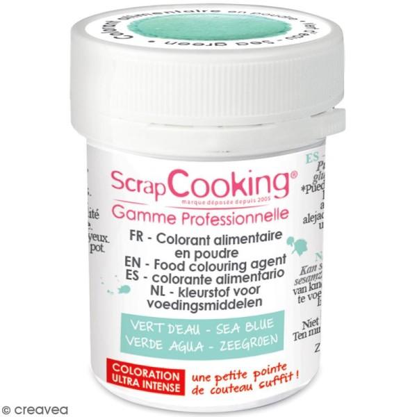 Colorant poudre alimentaire artificielle - Vert d'eau - 5 g - Photo n°1