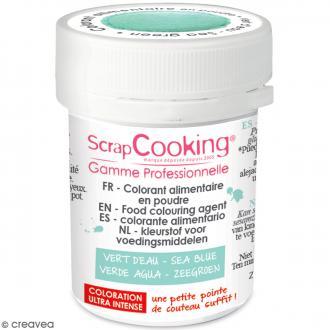 colorant poudre alimentaire artificielle vert deau 5 g - Colorant Poudre Alimentaire