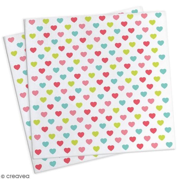 Serviettes en papier princesse - 25 x 25 cm - 20 pcs - Photo n°1