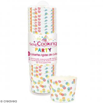 Caissettes de cuisson Confettis - 25 pcs
