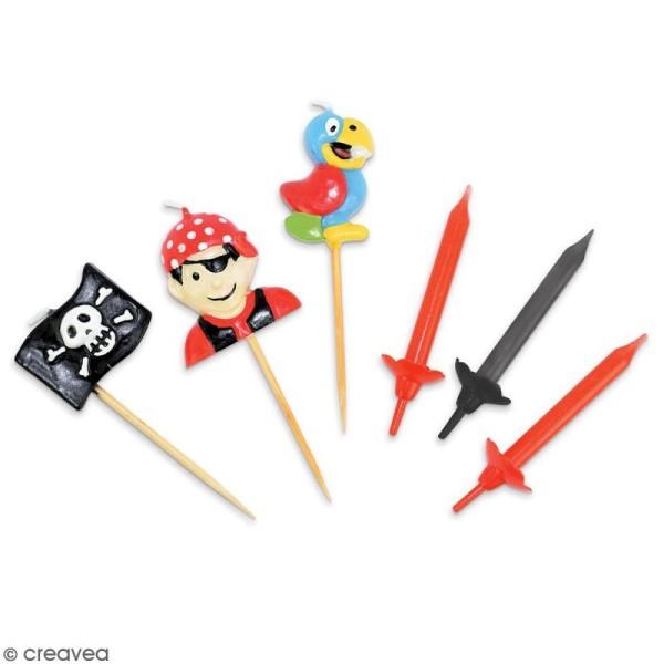 Bougies Pirates - 15 pcs - Photo n°2