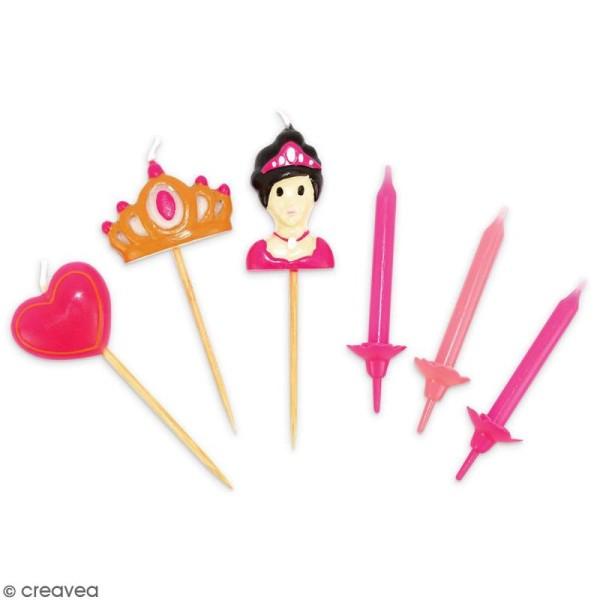 Bougies princesse - 15 pcs - Photo n°2