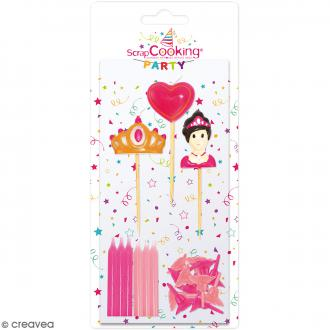 Bougies princesse - 15 pcs