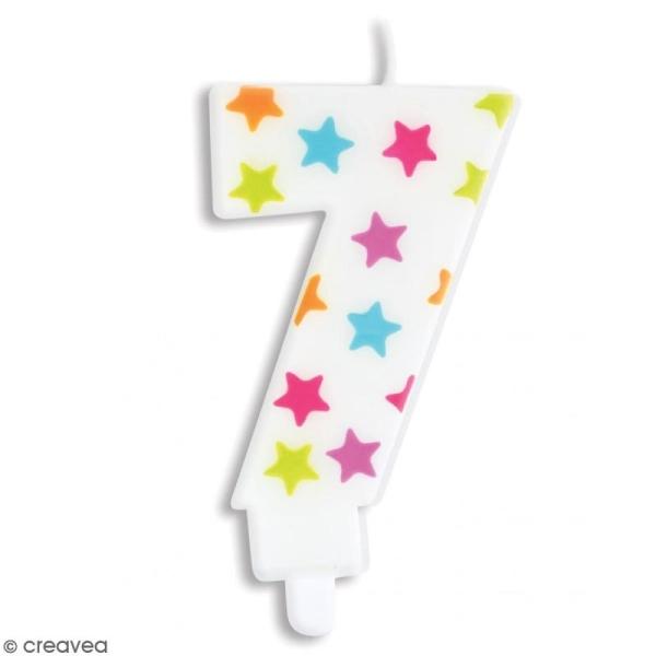 Bougie numéro 7 - Photo n°1