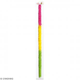Bâton multicolore pour Piñata - 50 cm