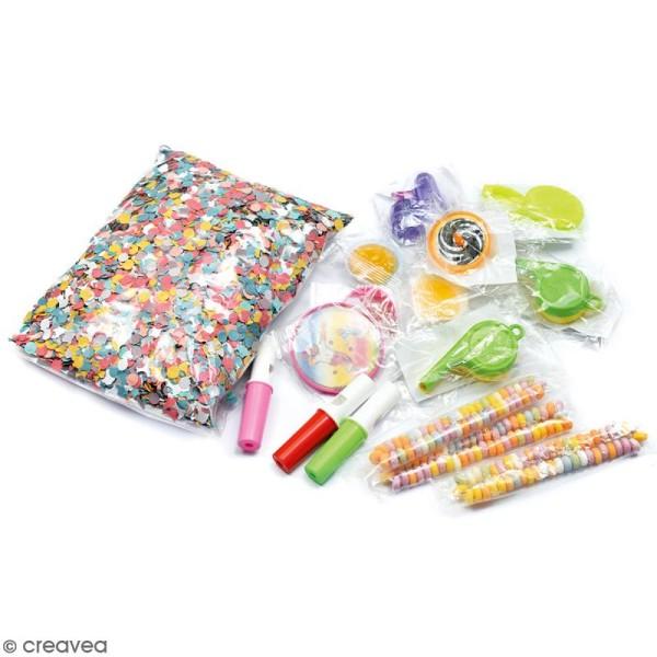 Kit jouets et bonbons pour piñata - 17 pcs - Photo n°2